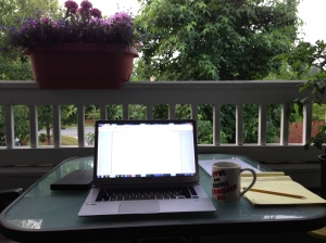 Summer Writing Desk